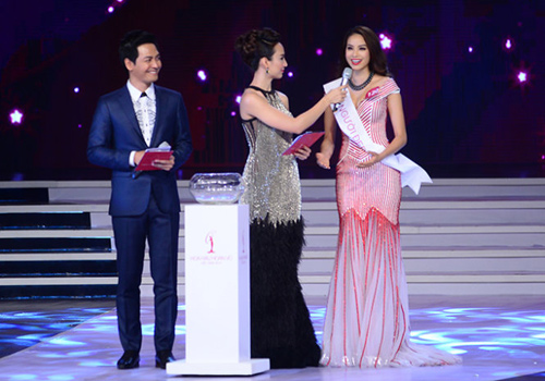 3 trùng hợp thú vị ở chung kết Hoa hậu Hoàn vũ VN - 1