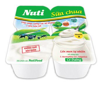 Sữa chua Nuti, giúp tăng cường sức đề kháng và tiêu hóa tốt - 1