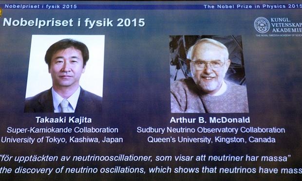 """Người giải mã bí ẩn hạt neutrino """"ma quái"""" nhận giải Nobel Vật lý - 1"""
