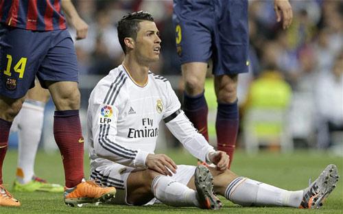 Thống kê: Ronaldo không phải SAO của trận đấu lớn - 2