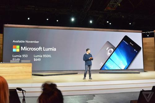 Ra mắt Lumia 950 XL: Camera huyền thoại, màn hình lớn - 3