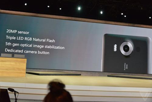 Ra mắt Lumia 950 XL: Camera huyền thoại, màn hình lớn - 4