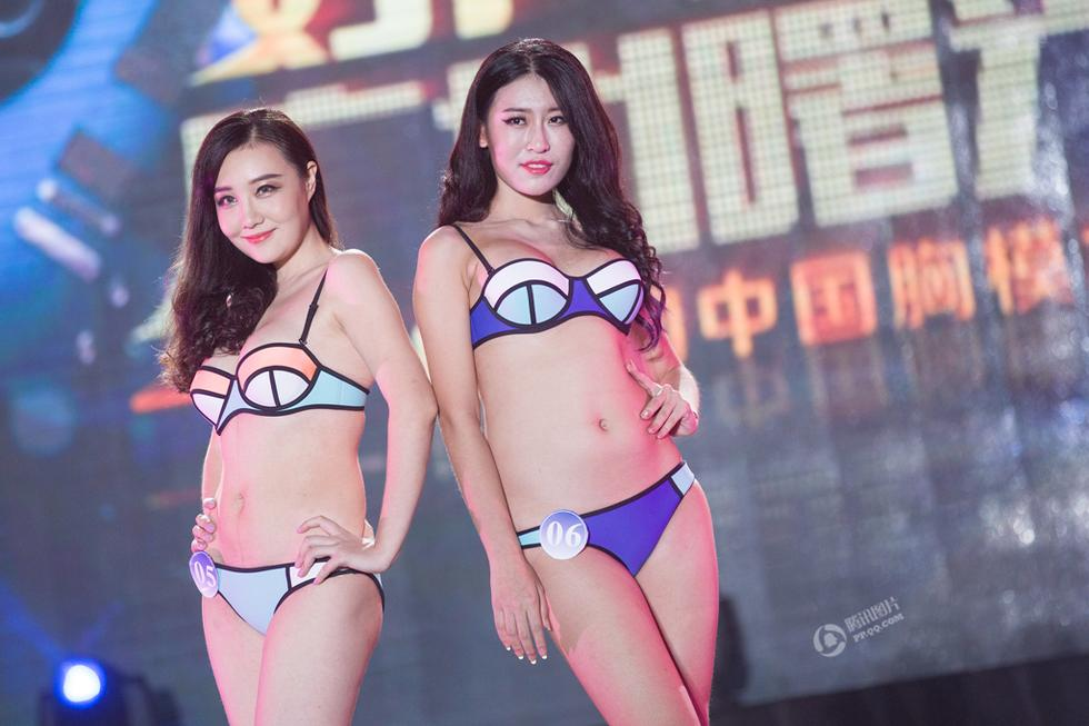 Hành trình nữ sinh 9X nâng vòng 1 thi Hoa hậu Ngực đẹp - 14