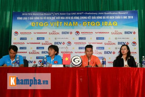 """HLV Miura """"đặt cửa"""" VN sẽ tạo bất ngờ trước Iraq - 1"""
