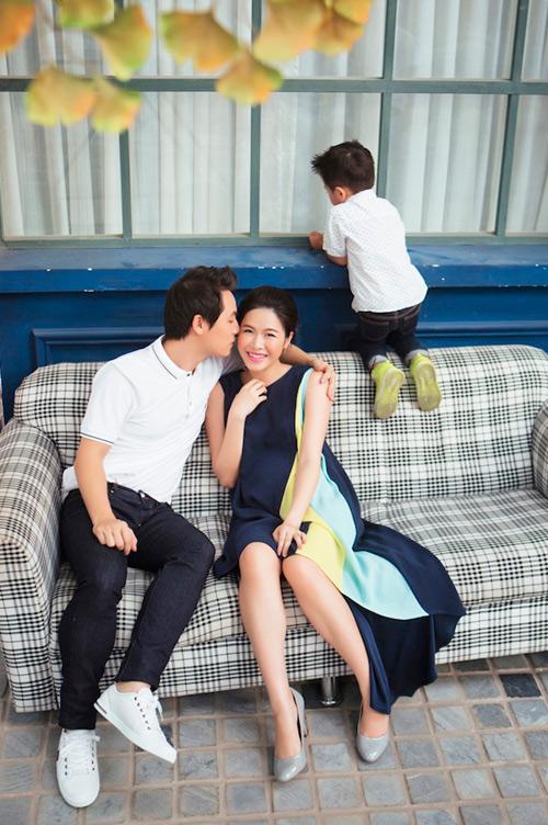Đăng Khôi tung loạt ảnh dễ thương của cả gia đình - 3