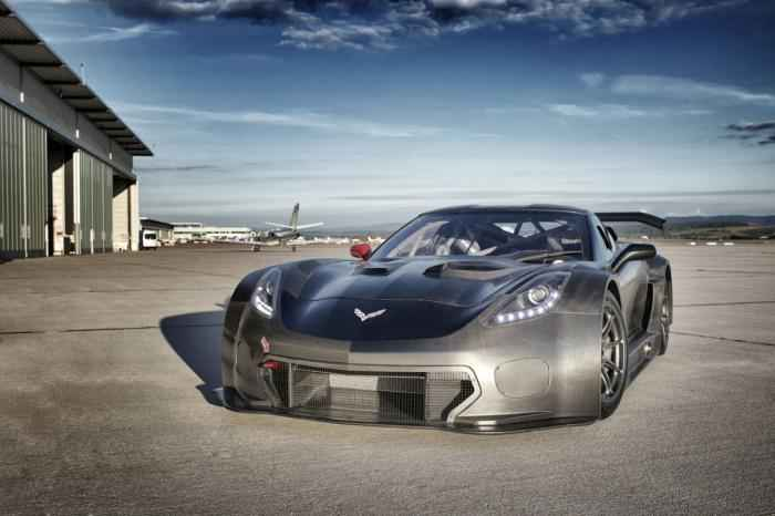 Đã mắt với chất ngầu của Corvette C7 GT3-R độ - 1