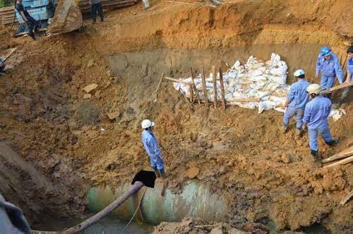 TGĐ Vinaconex xin lỗi người dân vì sự cố mất nước sạch - 1