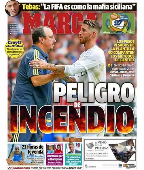 Nội biến Real: Benitez xung đột ít nhất 5 ngôi sao - 1