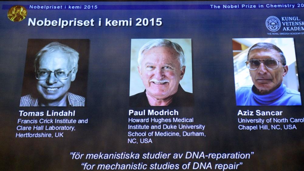 Lộ diện người giành giải Nobel Hóa học 2015 - 1
