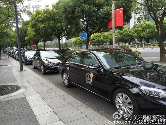 Dàn xe siêu sang Rolls-Royce tại đám cưới Huỳnh Hiểu Minh - 1