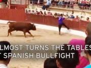 Thể thao - Kinh hãi: Bò tót vượt rào húc kẻ khiêu khích