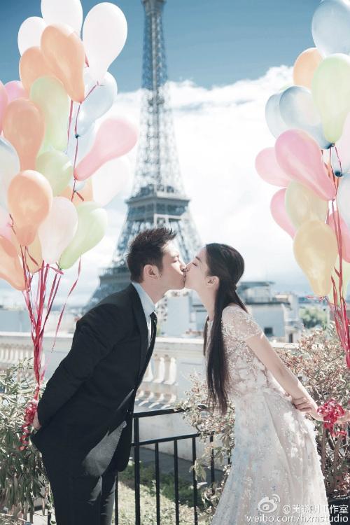 Ngắm trọn bộ ảnh cưới của Huỳnh Hiểu Minh, Angelababy - 1