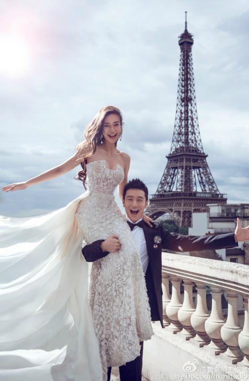 Ngắm trọn bộ ảnh cưới của Huỳnh Hiểu Minh, Angelababy - 2