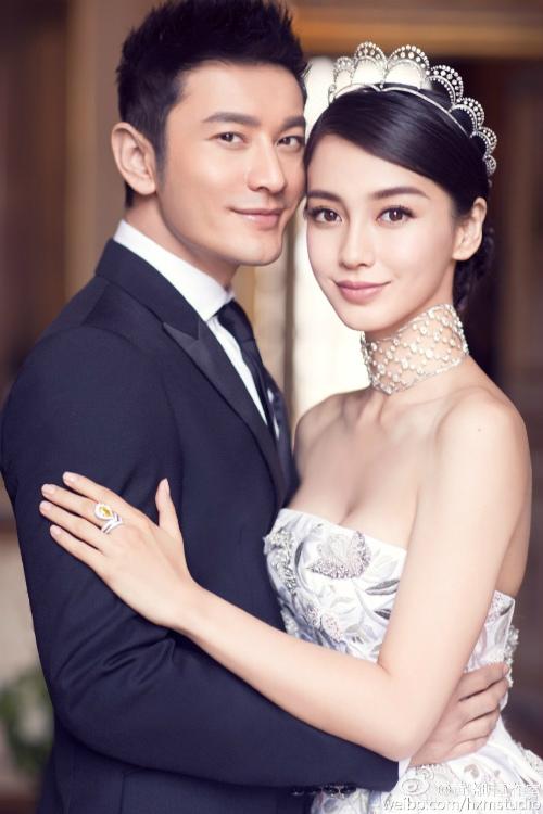 Ngắm trọn bộ ảnh cưới của Huỳnh Hiểu Minh, Angelababy - 3