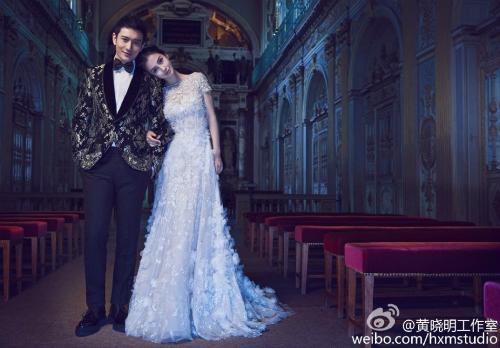Ngắm trọn bộ ảnh cưới của Huỳnh Hiểu Minh, Angelababy - 5