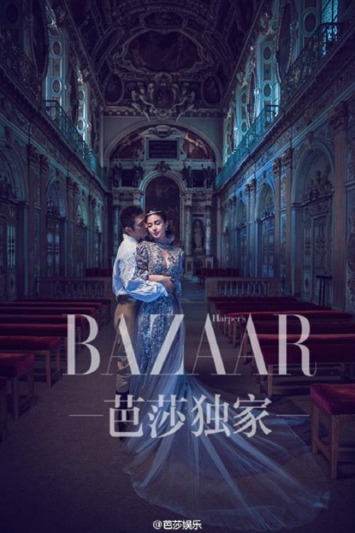 Ngắm trọn bộ ảnh cưới của Huỳnh Hiểu Minh, Angelababy - 9