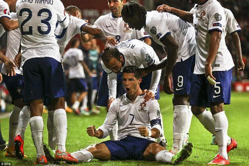 BĐN – Đan Mạch: Trọng trách trên vai Ronaldo - 1