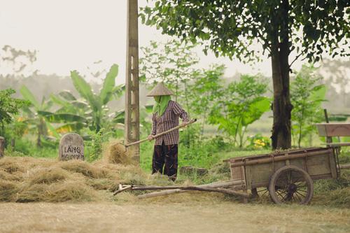 """Tìm về làng quê thanh bình với bộ ảnh """"Mùa gặt"""" - 5"""