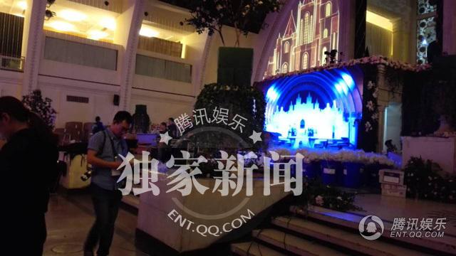 Đột nhập nơi diễn ra đám cưới xa hoa của Huỳnh Hiểu Minh - 2