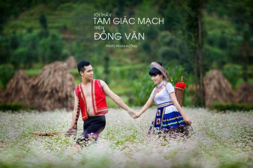 """Ảnh cưới lãng mạn """"Tôi thấy tam giác mạch trên Đồng Văn"""" - 1"""