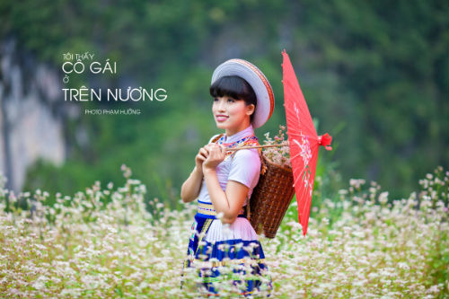"""Ảnh cưới lãng mạn """"Tôi thấy tam giác mạch trên Đồng Văn"""" - 4"""