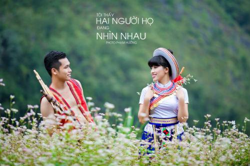 """Ảnh cưới lãng mạn """"Tôi thấy tam giác mạch trên Đồng Văn"""" - 6"""
