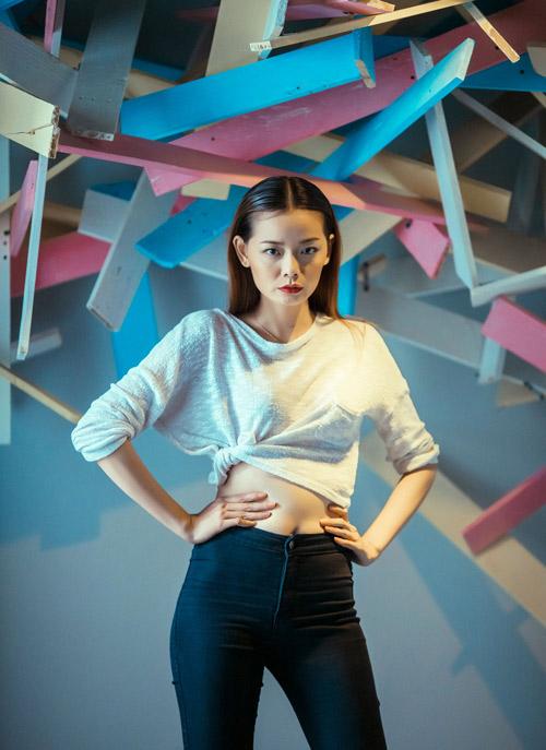 """Người đẹp Hoàn vũ Việt """"trình làng"""" ở tuần thời trang - 9"""