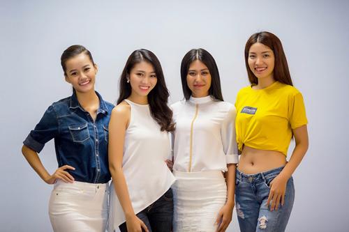 """Người đẹp Hoàn vũ Việt """"trình làng"""" ở tuần thời trang - 1"""