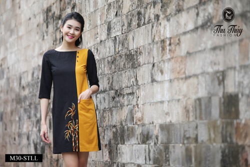 Ưu đãi 40% đầm liền mùa thu từ Thu Thủy Fashion - 7