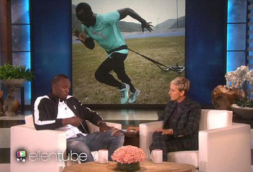 """""""Tia chớp"""" Usain Bolt chạy thua nhóc 8 tuổi - 1"""