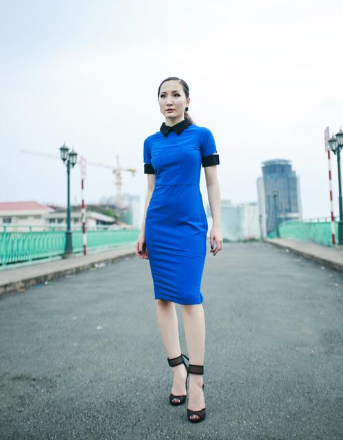Hot girl Thảo Goby khoe lưng trần nõn nà - 7