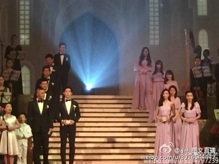 Hôn lễ Huỳnh Hiểu Minh, Angelababy ngập tràn nước mẳt hạnh phúc - 31