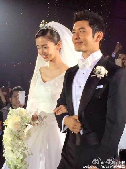 Hôn lễ Huỳnh Hiểu Minh, Angelababy ngập tràn nước mẳt hạnh phúc - 25