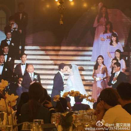 Hôn lễ Huỳnh Hiểu Minh, Angelababy ngập tràn nước mẳt hạnh phúc - 21