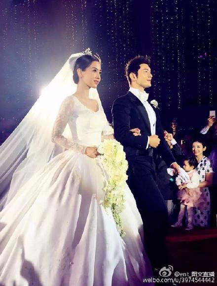 Hôn lễ Huỳnh Hiểu Minh, Angelababy ngập tràn nước mẳt hạnh phúc - 30