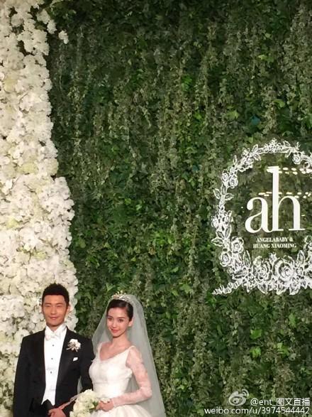 Hôn lễ Huỳnh Hiểu Minh, Angelababy ngập tràn nước mẳt hạnh phúc - 7