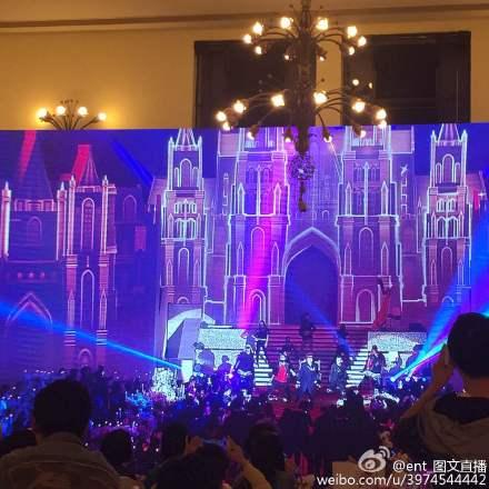 Hôn lễ Huỳnh Hiểu Minh, Angelababy ngập tràn nước mẳt hạnh phúc - 1