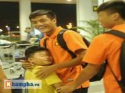 Bóng đá - U19 Việt Nam cười hết cỡ ngày trở về