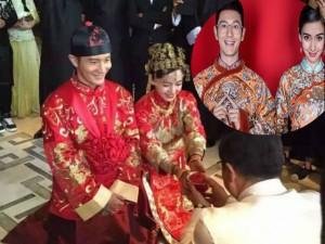 Clip: Huỳnh Hiểu Minh, Angela baby làm lễ bái đường