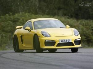 Porsche Cayman Clubsport GT4 bản đua sắp ra mắt