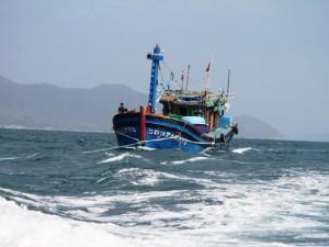 5 tàu cá của ngư dân Cà Mau bị Thái Lan bắt giữ