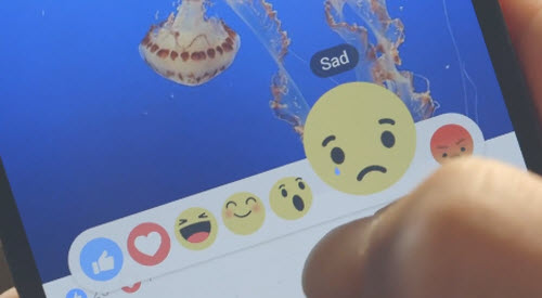 """Video: Dùng thử tính năng tương tự nút """"dislike"""" trên Facebook - 1"""