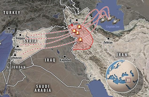 Mỹ khẳng định 4 tên lửa Nga bay lạc sang… Iran - 1