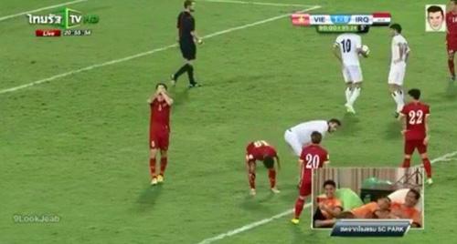 Việt Nam bị hòa, cầu thủ Thái Lan mừng như vô địch - 2
