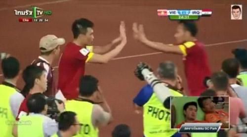 Việt Nam bị hòa, cầu thủ Thái Lan mừng như vô địch - 1