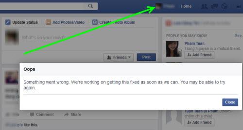 Facebook của người dùng Việt Nam đổi giao diện - 2