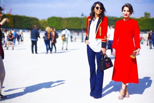 Ngắm tín đồ đẹp lộng lẫy giữa nắng vàng Paris - 9