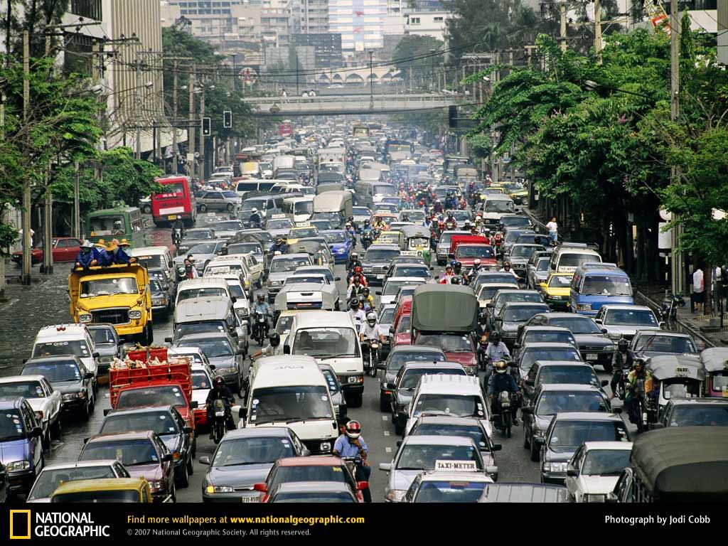 Hình ảnh tắc đường khủng khiếp trên thế giới - 3