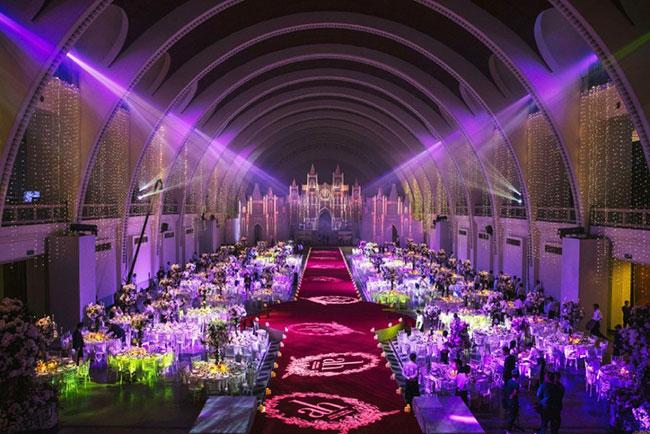 """Bóc giá """"đám cưới thế kỷ"""" gần 700 tỷ của Huỳnh Hiểu Minh - 4"""
