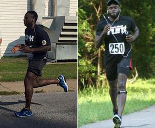"Chàng trai 159kg giảm 75kg: ""Marathon là lẽ sống"" - 2"